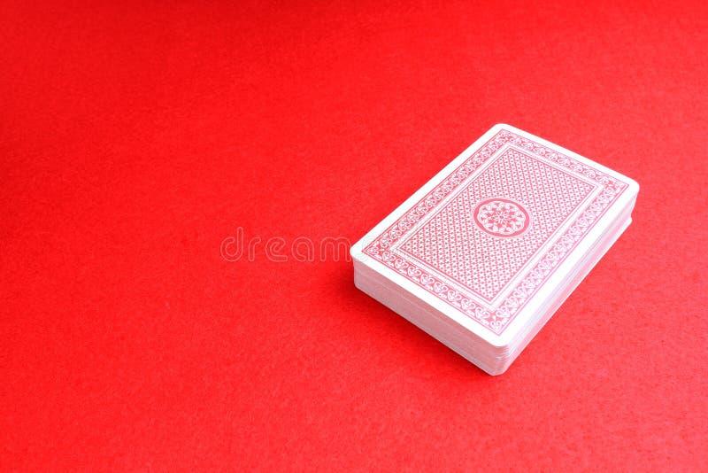 Una cubierta de tarjetas imágenes de archivo libres de regalías