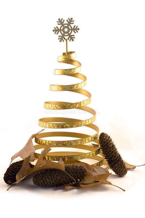 Una decoración moderna de Navidad foto de archivo