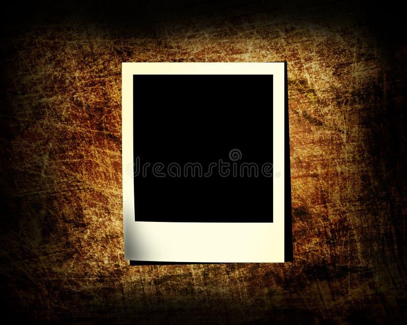 Una diapositiva de la foto en un fondo del grunge libre illustration