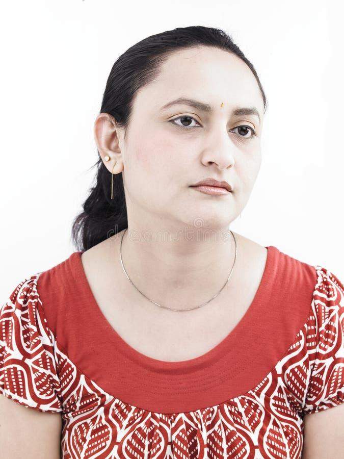 Download Una Donna Triste Dell'origine Indiana Immagine Stock - Immagine di moderno, indiano: 7321197