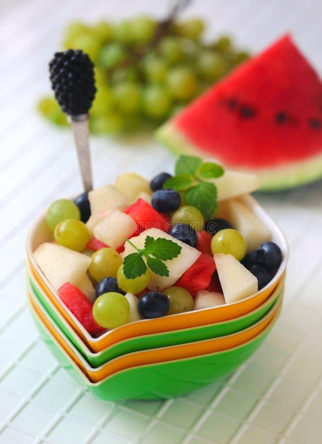 Una ensalada de fruta fotos de archivo libres de regalías