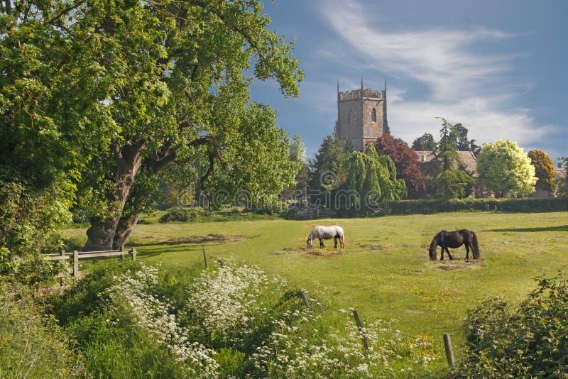 Una escena rural fotos de archivo
