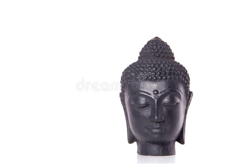 Una estatua de Budha del peacefull foto de archivo libre de regalías