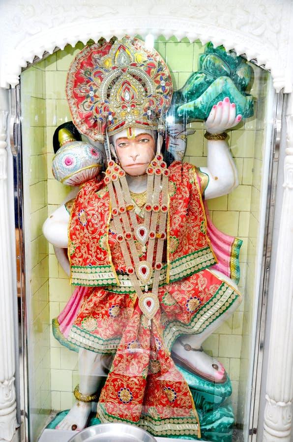 Una estatua de dios hindú Hanuman fotos de archivo libres de regalías