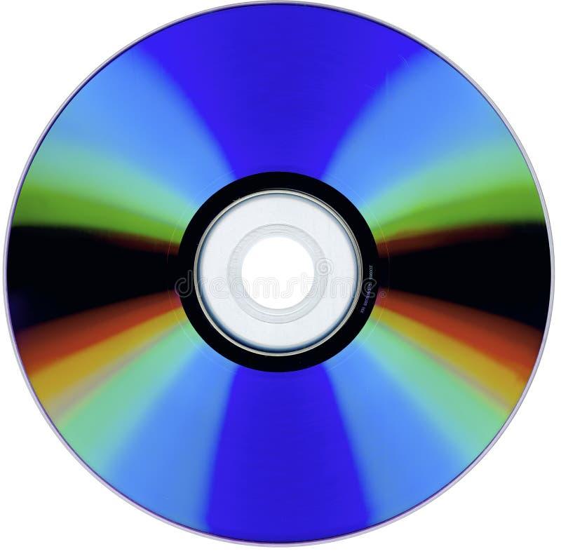 Una exploración de un CD-ROM aislado imágenes de archivo libres de regalías