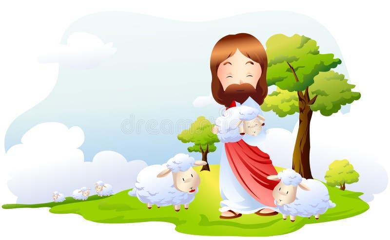 Una expresión bíblica ilustración del vector