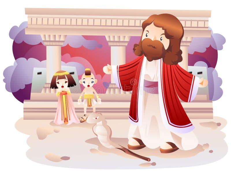 Una expresión bíblica stock de ilustración