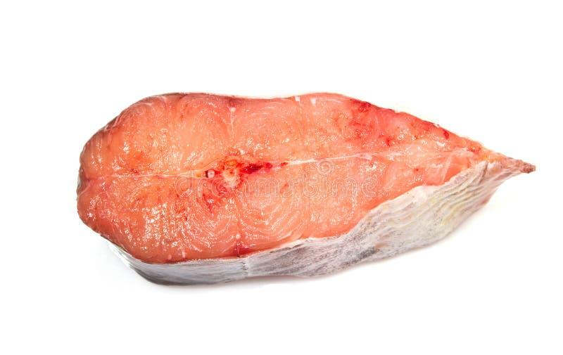 Una fetta del pesce gatto fotografie stock libere da diritti