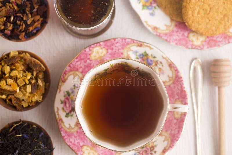 Una fiesta del té fotos de archivo