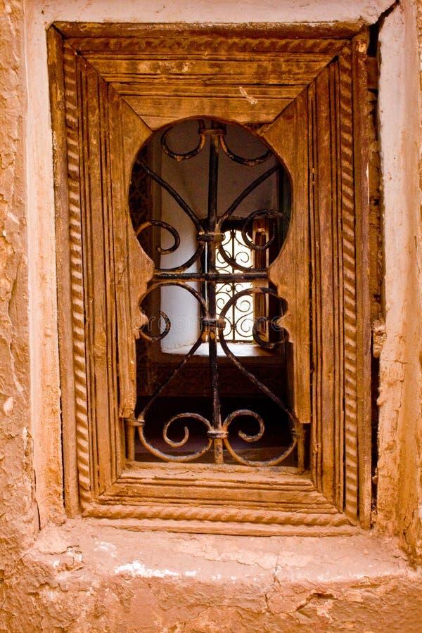 Una finestra marocchina immagini stock