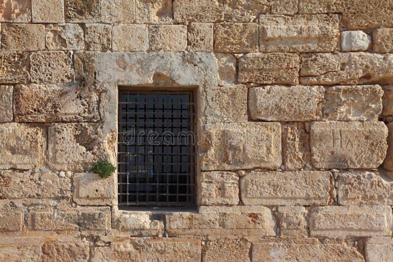 Una fortaleza antigua del cruzado. fotos de archivo