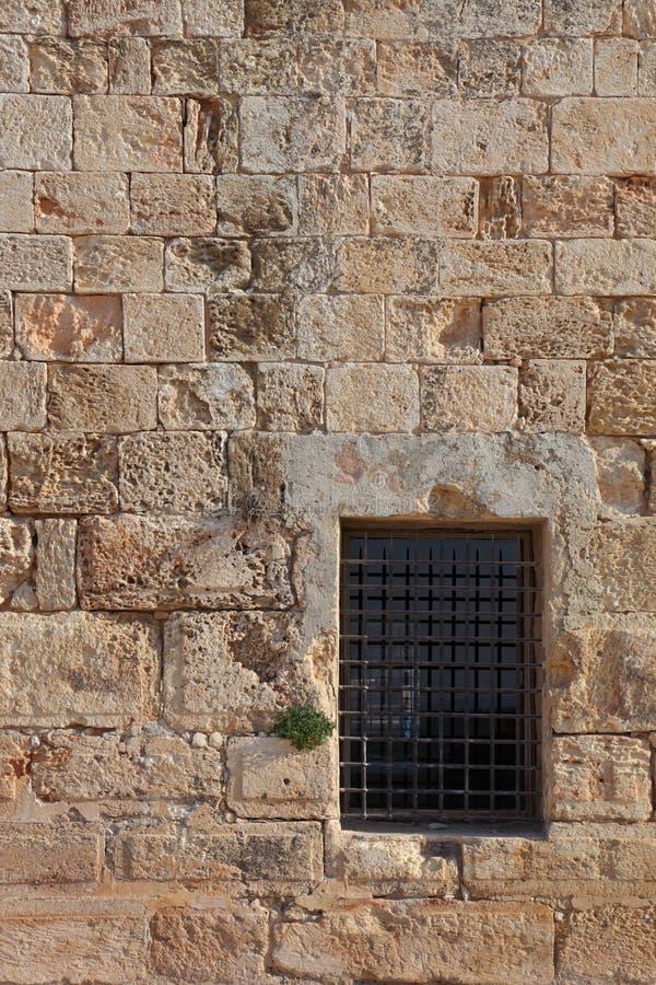 Una fortaleza antigua del cruzado foto de archivo libre de regalías