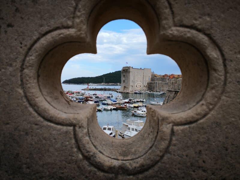 Una foto artística del puerto viejo fotos de archivo libres de regalías