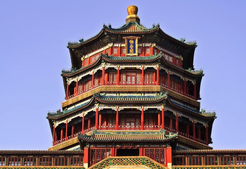 Una foto del padiglione della fragranza di Buddha fotografia stock libera da diritti