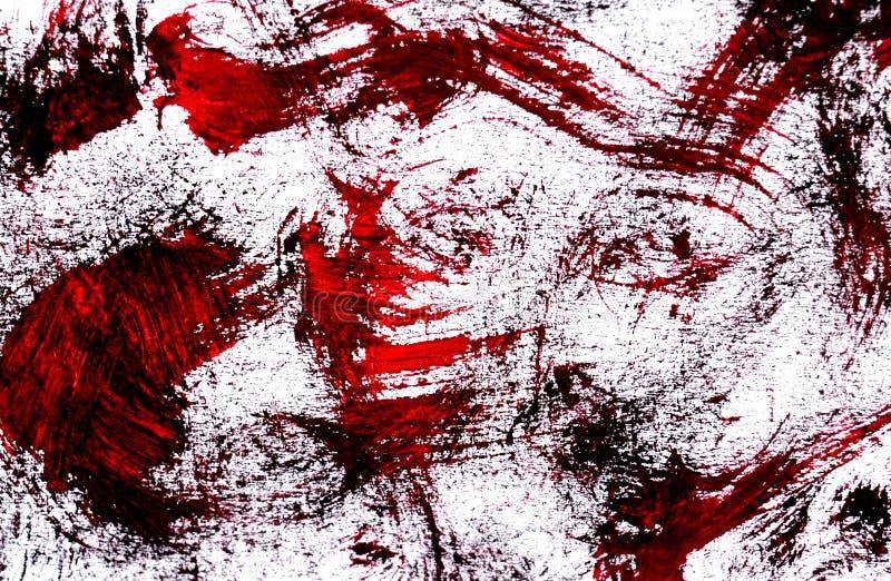 Una foto di una pittura astratta dell'acquerello fotografia stock libera da diritti