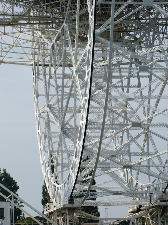 Piatto del radar fotografia stock libera da diritti