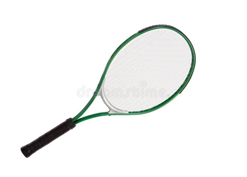 Una foto di una racchetta di tennis immagine stock