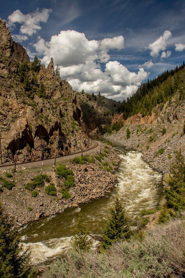 Una foto pintoresca de Utah fotos de archivo
