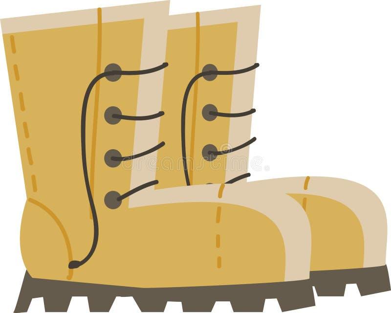 Una funda amarilla, ilustración de color vectorial ilustración del vector