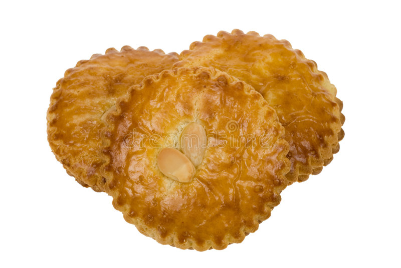 Una galleta holandesa típica fotos de archivo