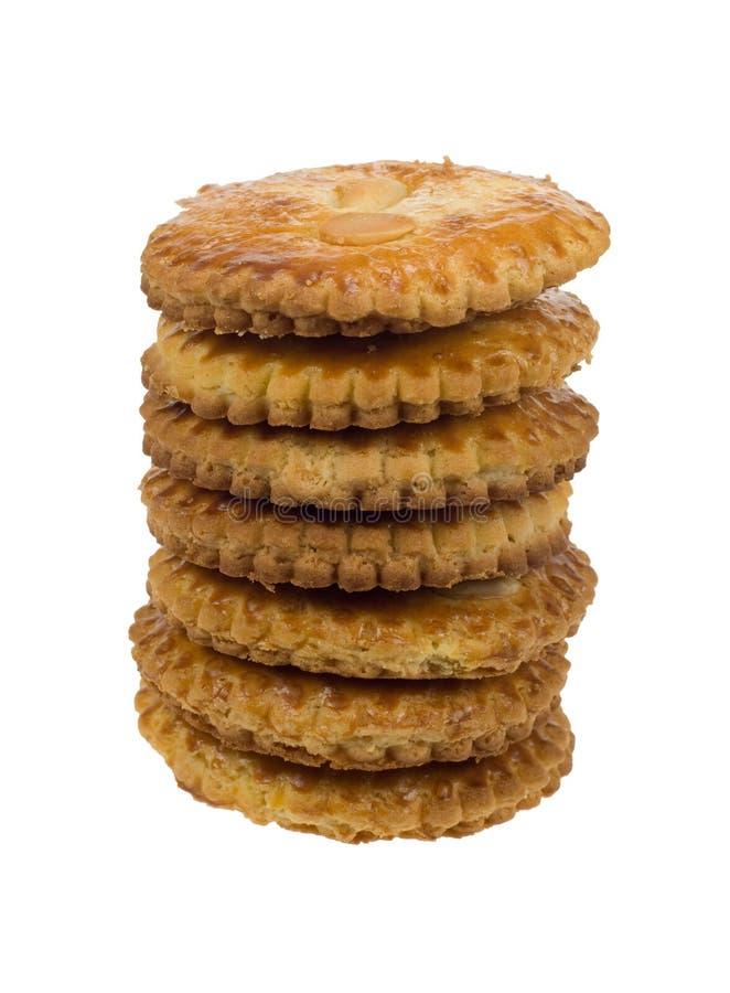 Una galleta holandesa típica imagenes de archivo