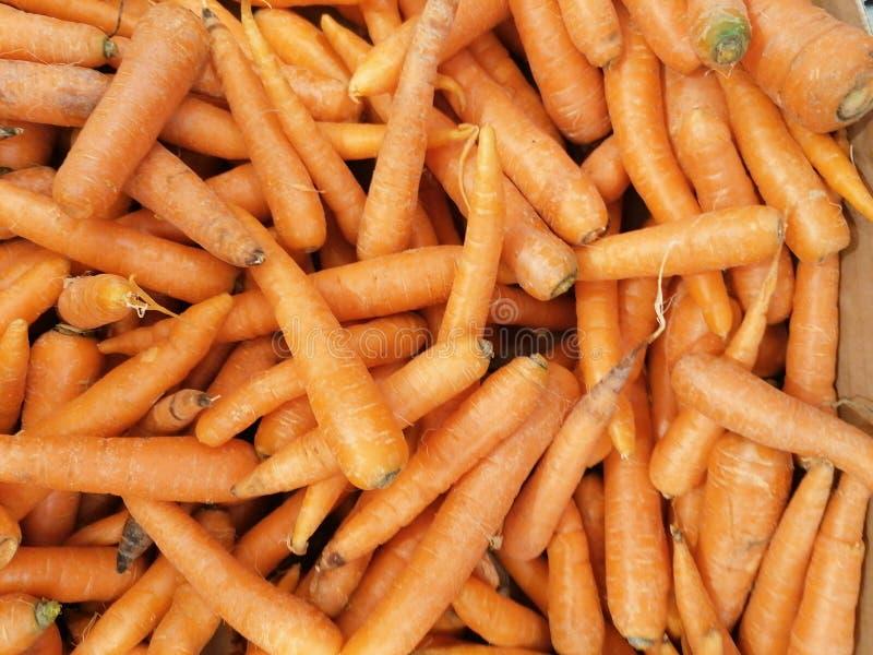 Una gran cantidad de zanahorias fotografía de archivo