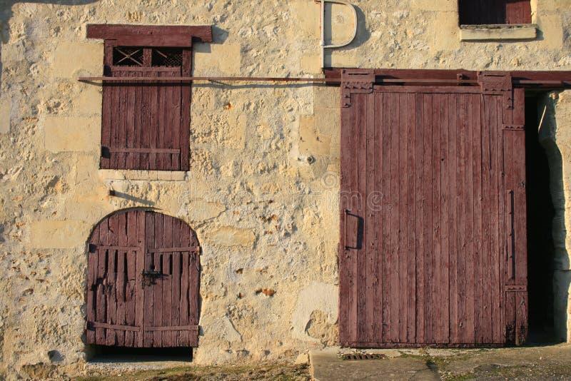 Una granja francesa vieja fotografía de archivo libre de regalías
