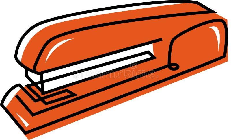 Una grapadora ilustración del vector