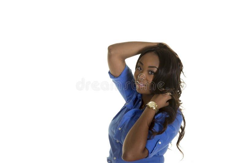 Download Una Hembra Atractiva Aislada Llevando Una Falda Foto de archivo - Imagen de feliz, alegre: 44850940