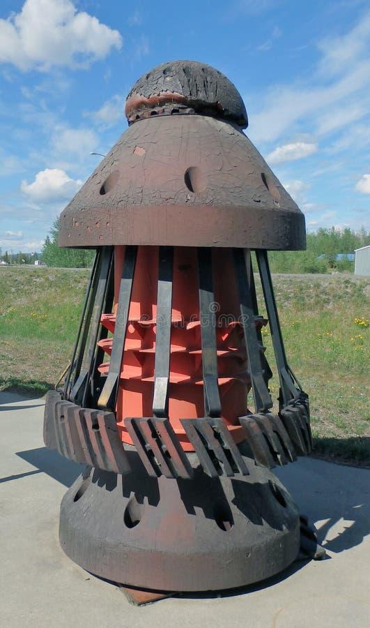 Una herramienta de la tubería de Alaska foto de archivo