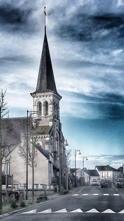 Una iglesia fotos de archivo libres de regalías