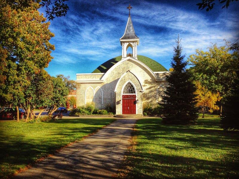 Una iglesia en Montreal imagenes de archivo