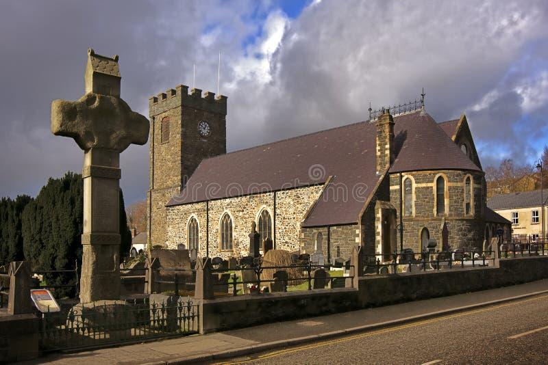 Una iglesia irlandesa vieja imagen de archivo libre de regalías