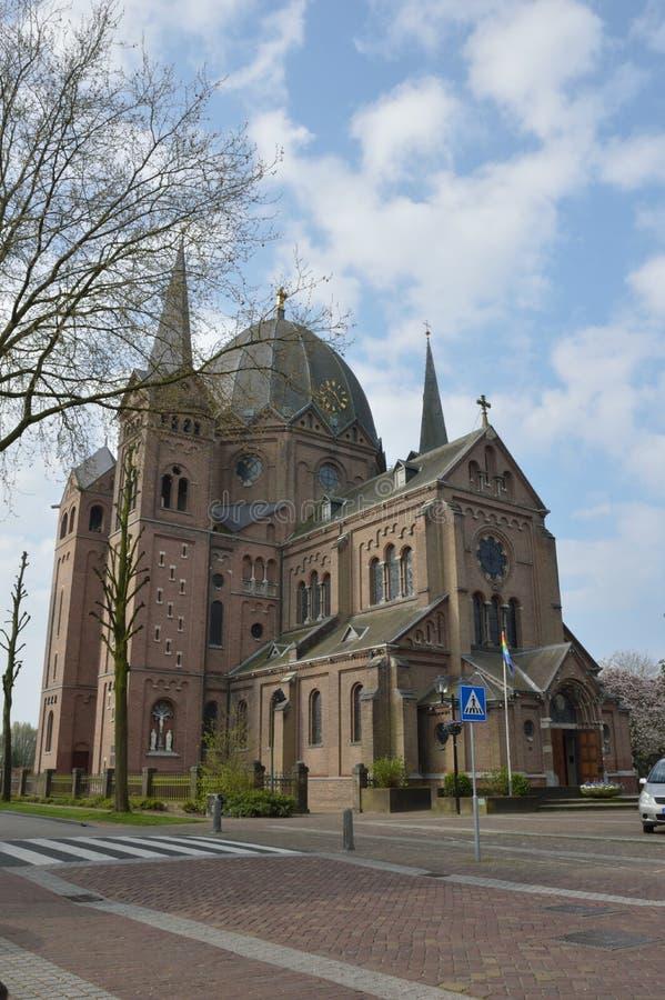 Una iglesia vieja en Holanda imagen de archivo libre de regalías