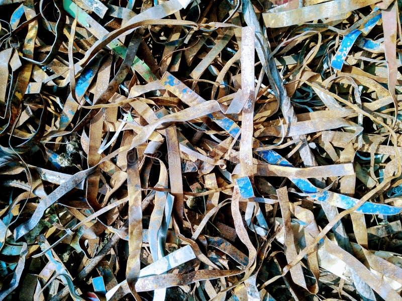 Una imagen de la escarpa de acero fotografía de archivo libre de regalías