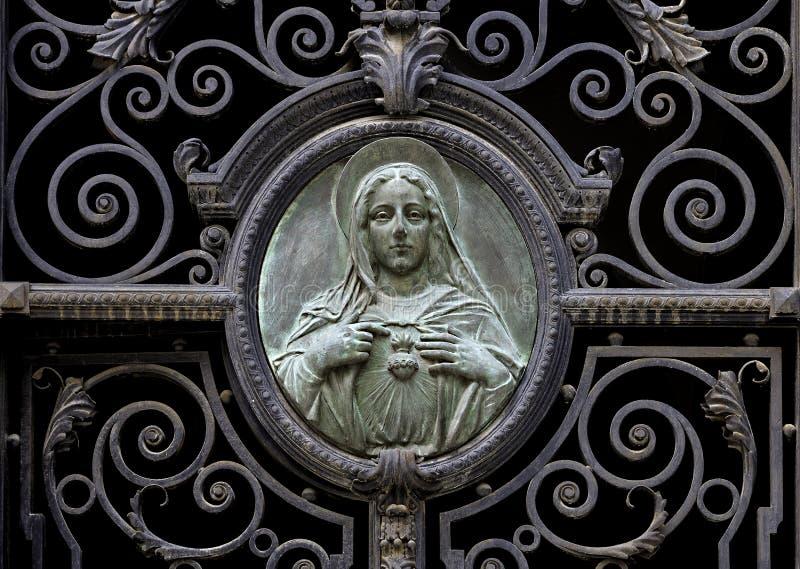 Una imagen de la Virgen María imagenes de archivo