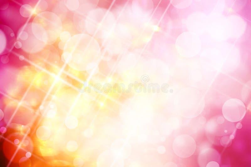 Una imagen del fondo rosado del bokeh del tono foto de archivo