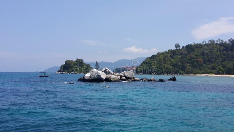 una isla fotografía de archivo