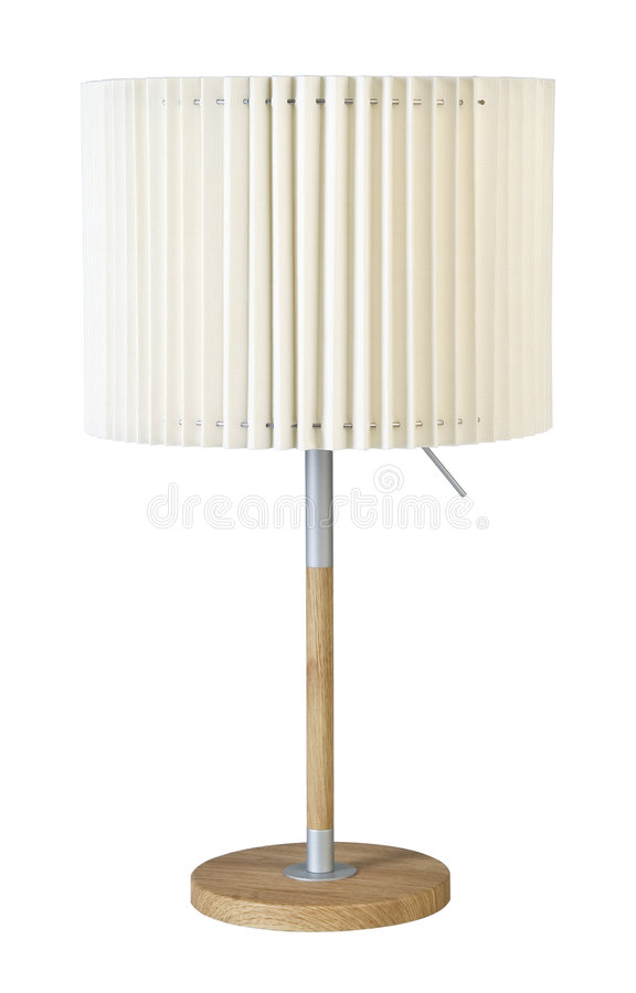 Una lampada standard fotografie stock