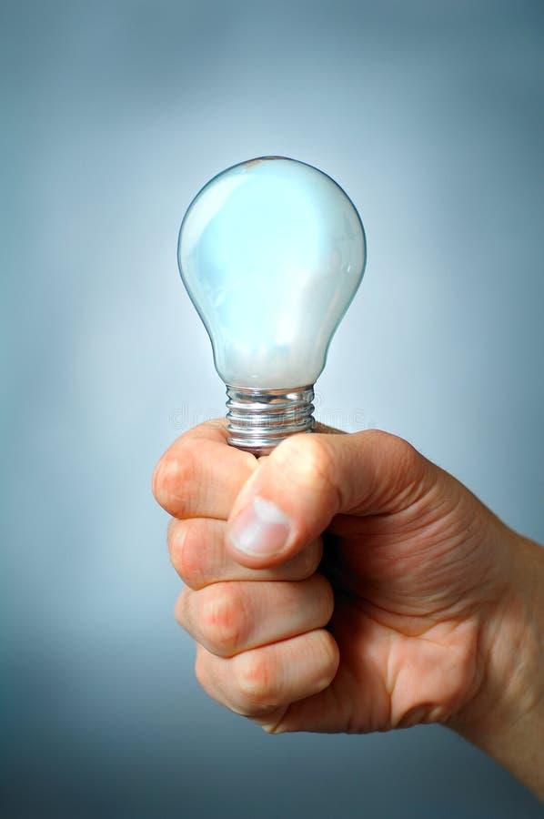 Una lampadina immagine stock libera da diritti