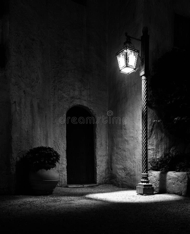 Una luce fotografia stock libera da diritti