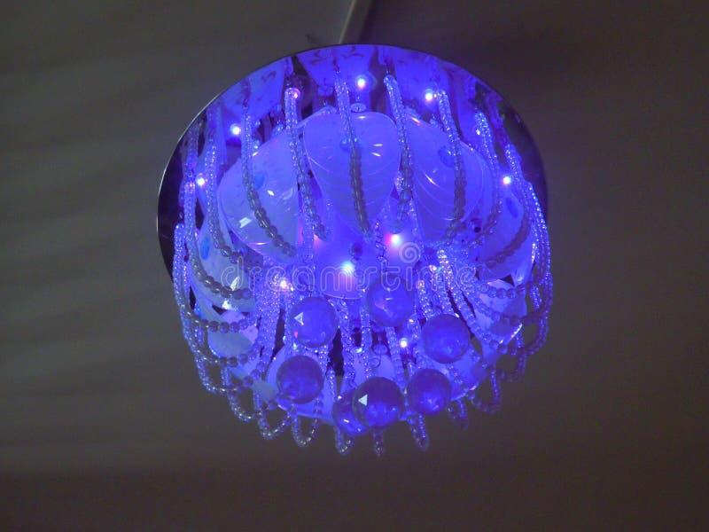Una luce decorativa per interior design fotografia stock