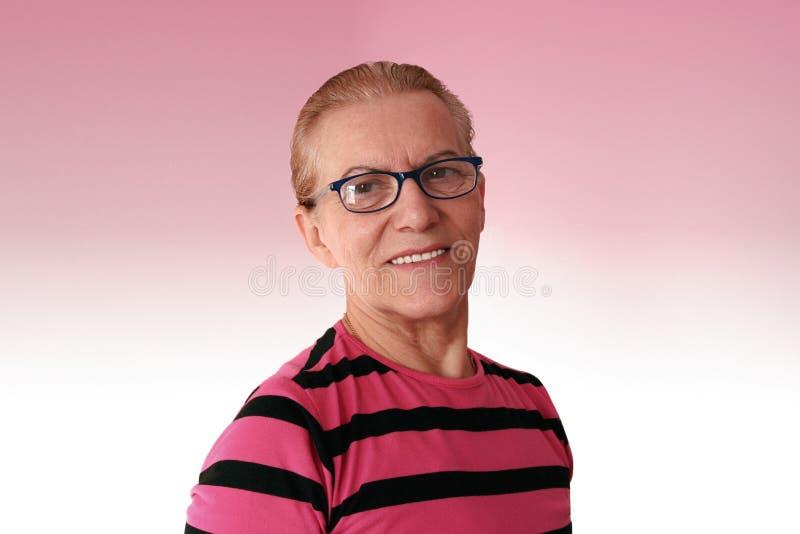 Una más vieja mujer imagenes de archivo