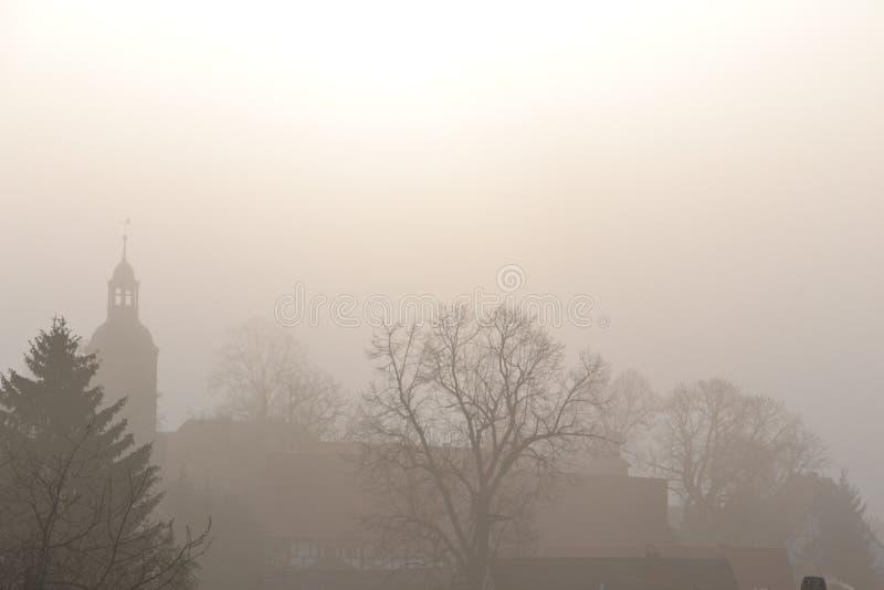 Una mañana de niebla fotos de archivo libres de regalías