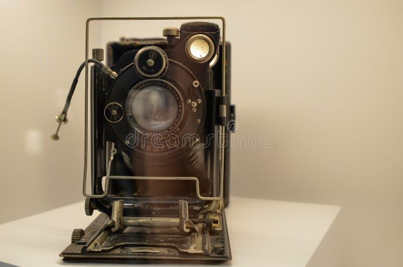 Una macchina fotografica dei soffietti immagini stock