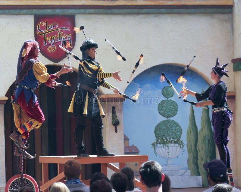 Una manifestazione di Tynker del clan, festival di rinascita dell'Arizona immagini stock