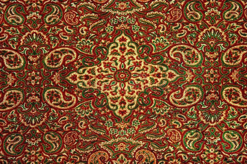Una manta persa hermosa e intrincada fotos de archivo libres de regalías