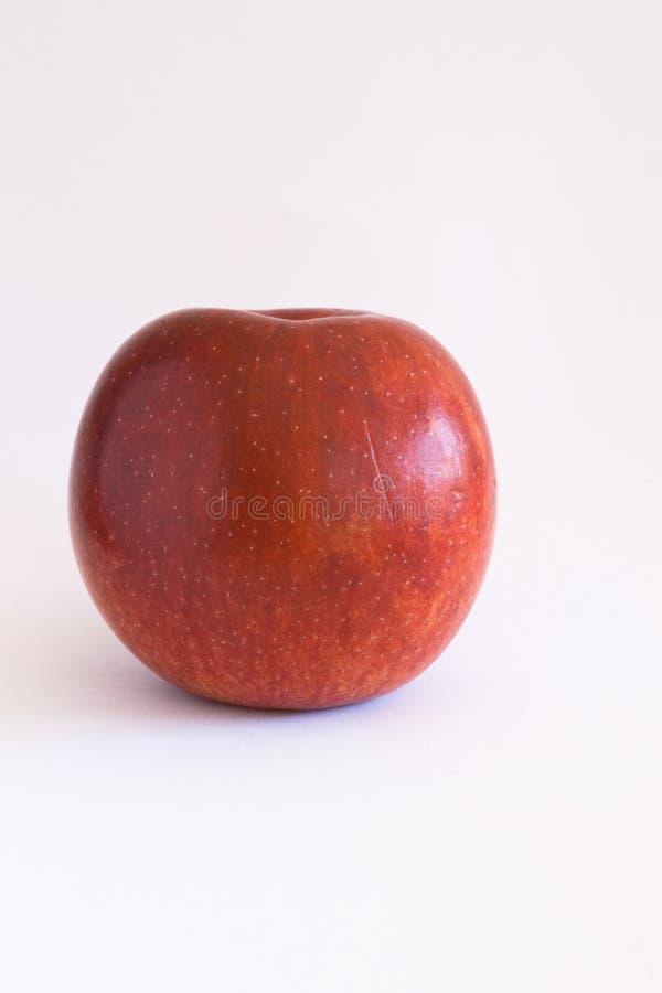 Una manzana roja fotos de archivo