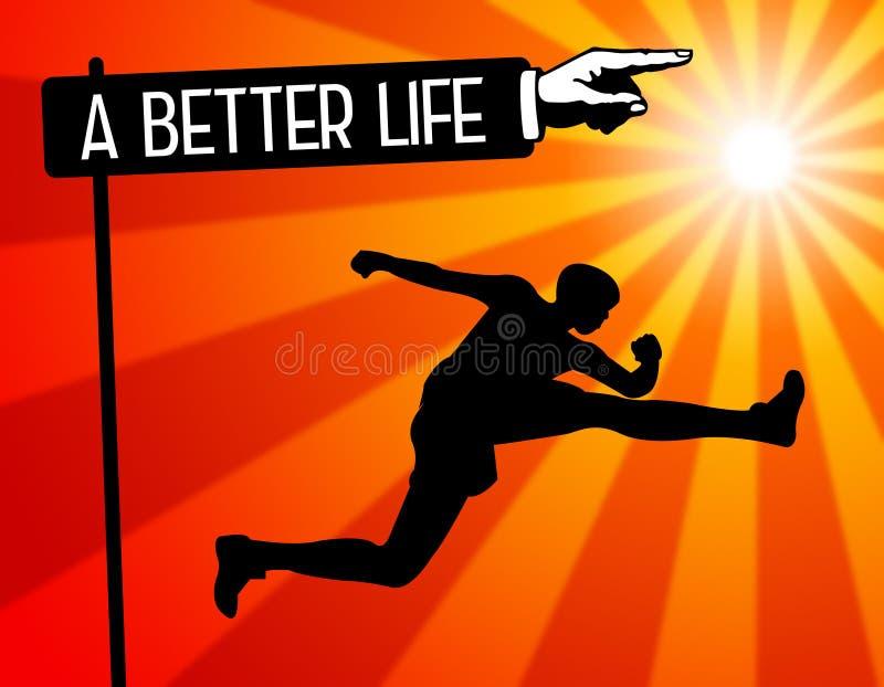 Una mejor vida libre illustration