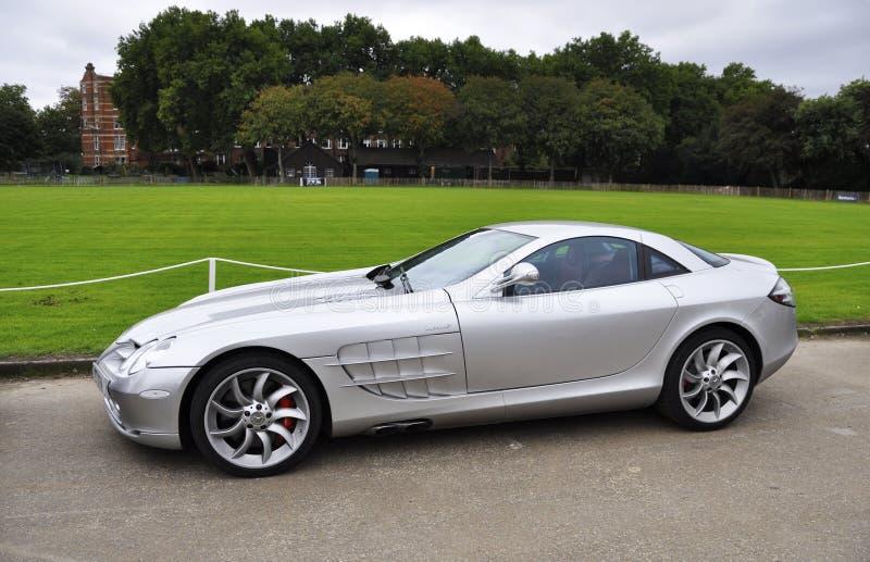 Una Mercedes SLR McLaren en Chelsea AutoLegends imagen de archivo